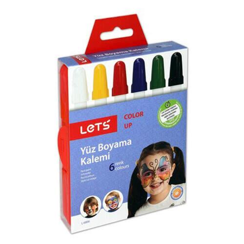 Lets 6 Renk Çevirmeli Yüz Boyası