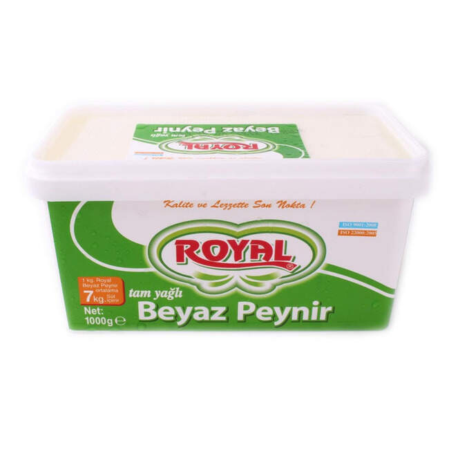 Royal Tam Yagli Beyaz Peynir Kg.