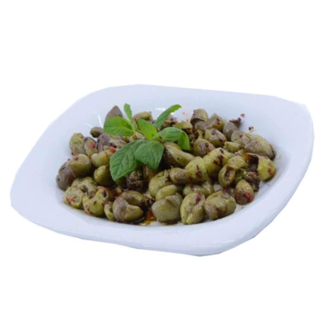 Yeşil Zeytin Salatası Kg.