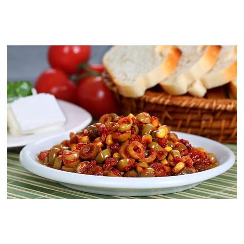 Yesıl Zeytın Salatası Kg