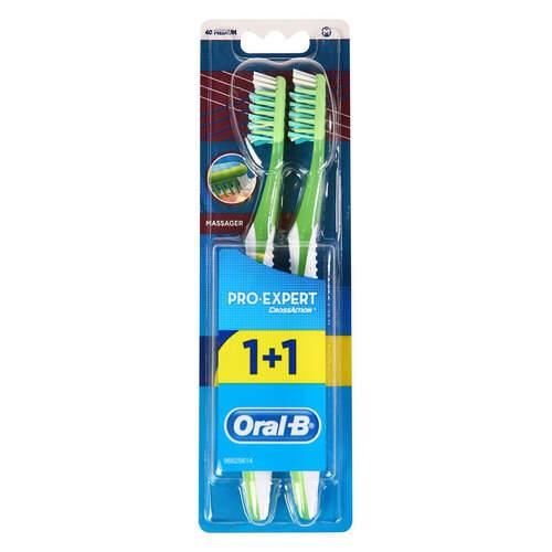 Oral B Pro-expert Masaj 1+1 40 Med Diş Fırçası