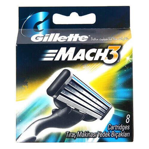 Gillette Mach 3 8'li Traş Bıçağı