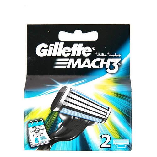 Gillette Mach 3 2'li Traş Bıçağı