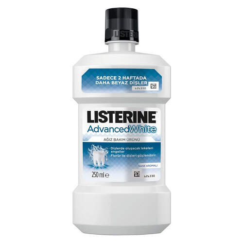 Listerine Mouthwash-advance White 250 Ml.