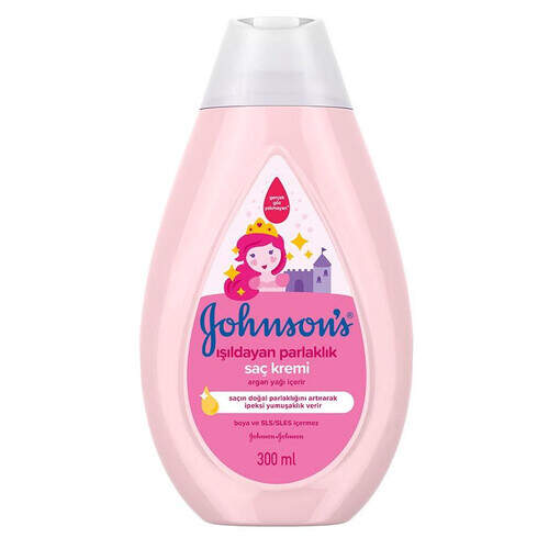 Johnsons Baby Isildayan Parlak Saçlar Krem 300 Ml.