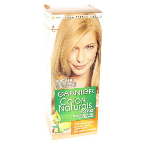Garnier Color Naturals Sarı Saç Boyası 9