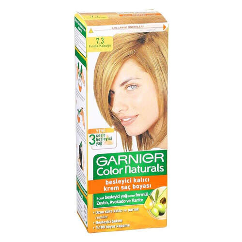Garnier Color Naturals Fındık Kabuğu Krem Boya 7.3