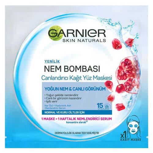 Garnier Mavi Kağıt Maske Askılı