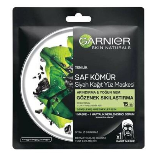 Garnier Saf Komur Siyah Maske