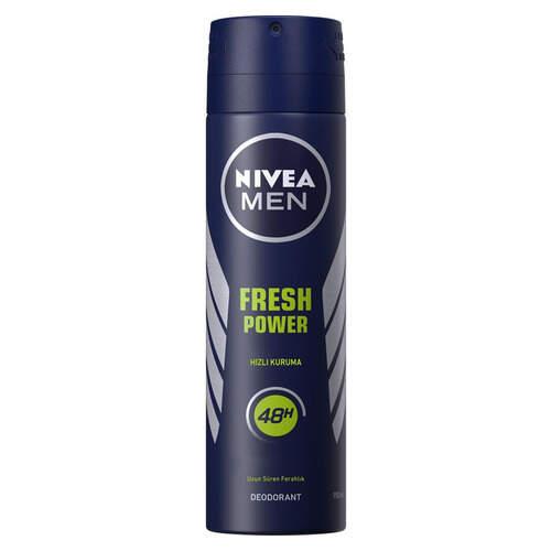 Nivea Deodorant For Men Fresh Power 150 Ml.