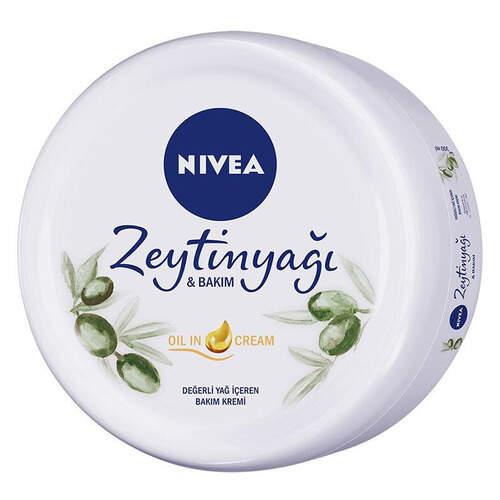 Nivea Soft Zeytinyağlı Krem 300 Ml.