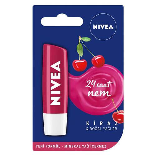 Nivea Lip Gloss Kiraz