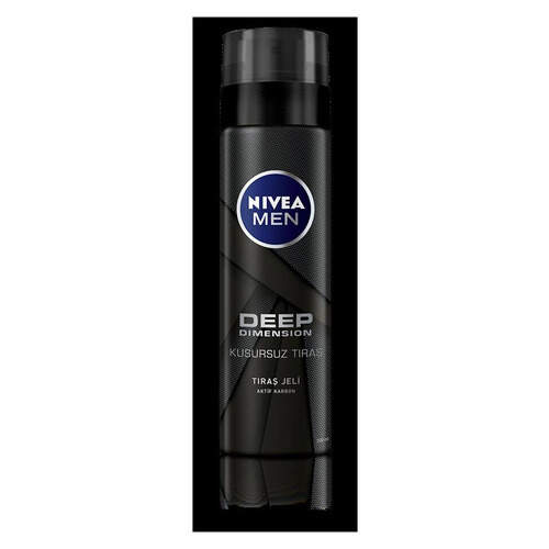 Nivea Men Deep Traş Jeli 200 Ml.
