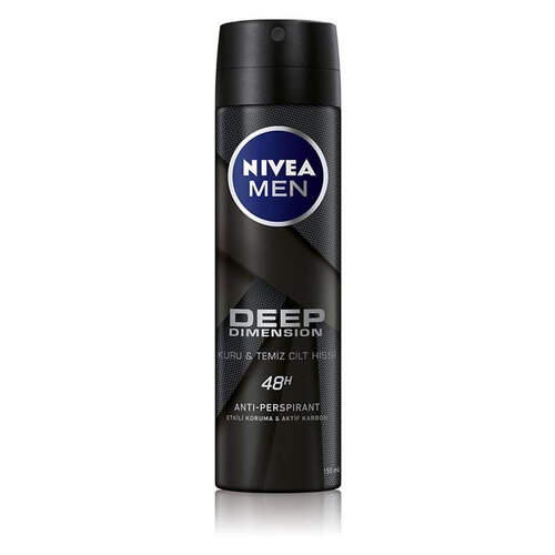Nivea Deodorant Deep Men 150 Ml.