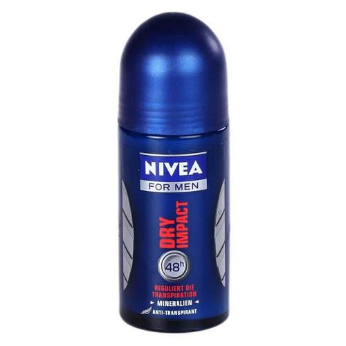 Nivea Rollon Formen Dry İmpact Pudralı 50 Ml.