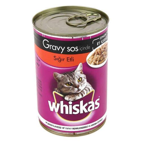 Whiskas Biftekli Konserve 400 Gr.