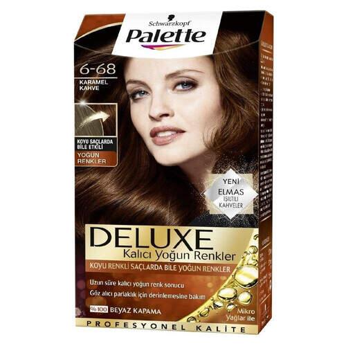 Palette Delux Karamel Kahve 6-68 50 Ml.