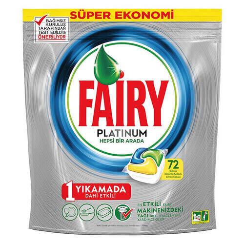 Fairy Platinum Makina Kapsül 72'li Paket