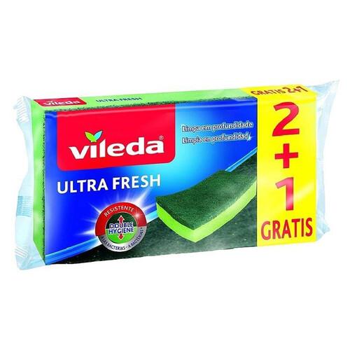 Vıleda Ultra Fresh Bul. Sungerı Duz 2+1