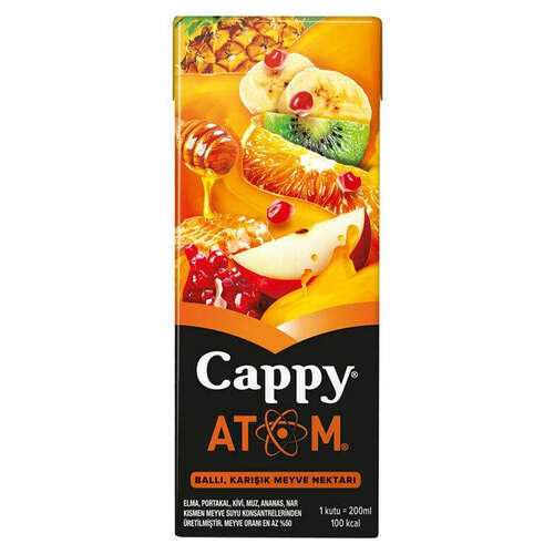 Cappy Meyve Suyu Atom 200 Ml.