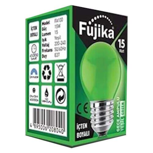 Fujika Yeşil Gece Ampulü