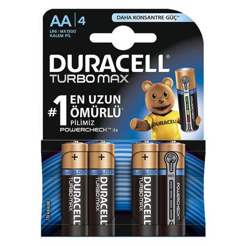 Duracell Turbo Kalem 4'lü Pil