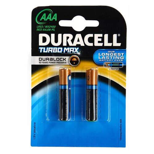 Duracell Turbo Pil İnce 2'li