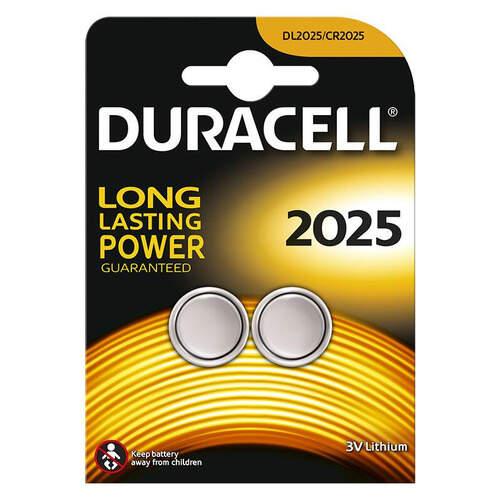 Duracell Düğme Pil 2025 2'li 3 Volt