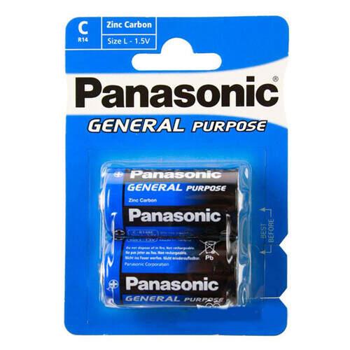 Panasonic Büyük Pil Ask 2'li