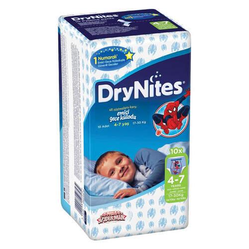 Huggies Dry Nites Gece Kilodu 10'lu 17-30 Kg.