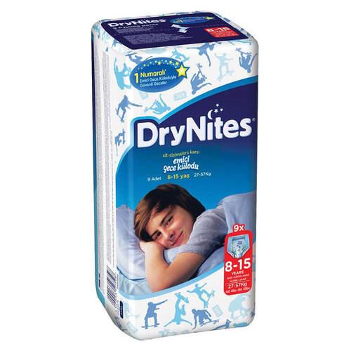 Huggies Drynites Gece Kilodu Orta 9'lu 27-57 Kg.