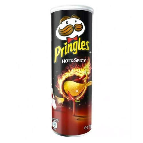 Pringles Hot Spicy 165 Gr.