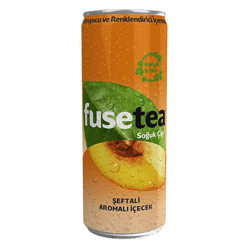 Fuse Tea Şeftali İce Tea 330ml.