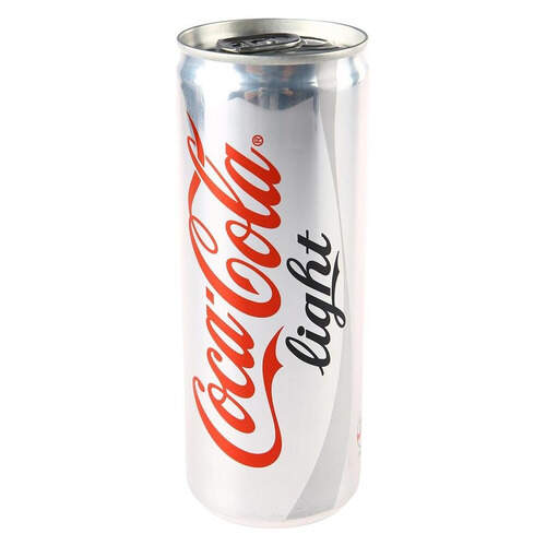 Coca-cola Light Teneke Kutu 250 Ml.