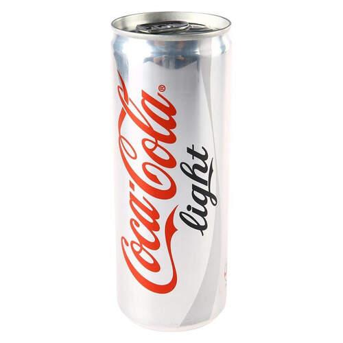 Coca-cola Light Teneke Kutu 250 Ml.