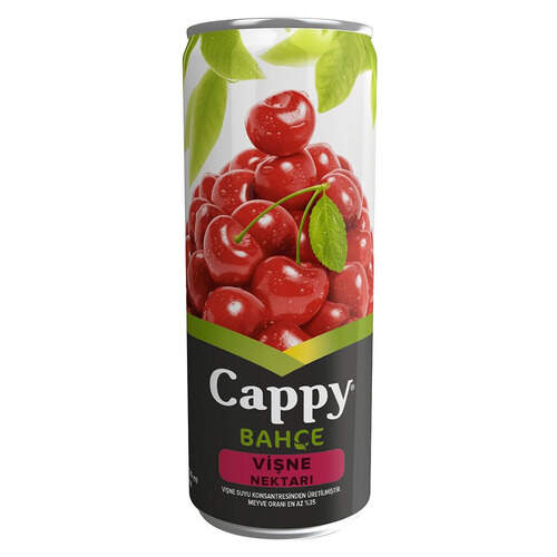 Cappy Meyve Suyu Vişne 330 Ml.