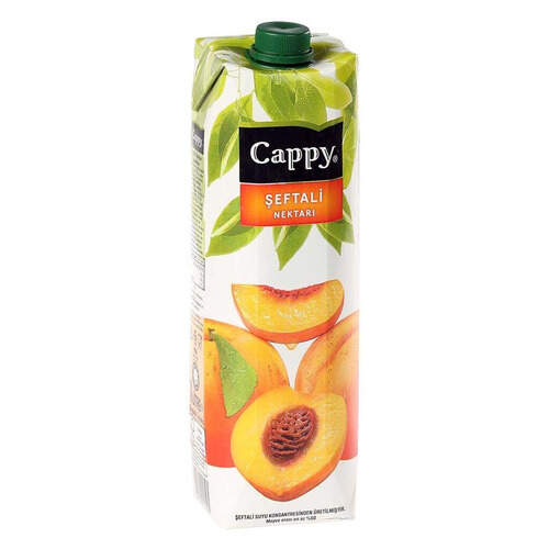 Cappy Meyve Suyu Şeftali 1 Lt.