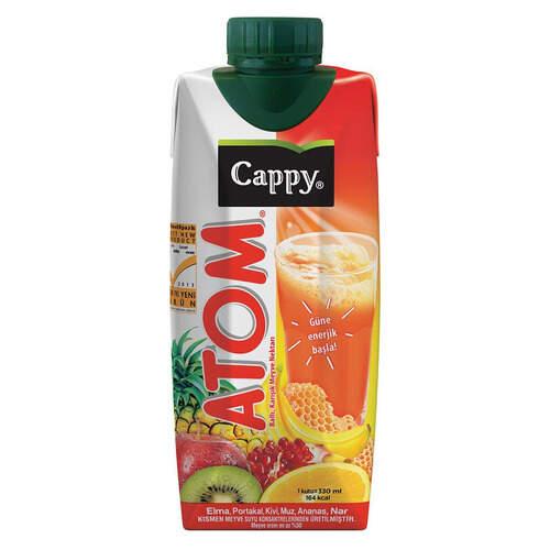 Cappy Meyve Suyu Atom Teneke 330ml.