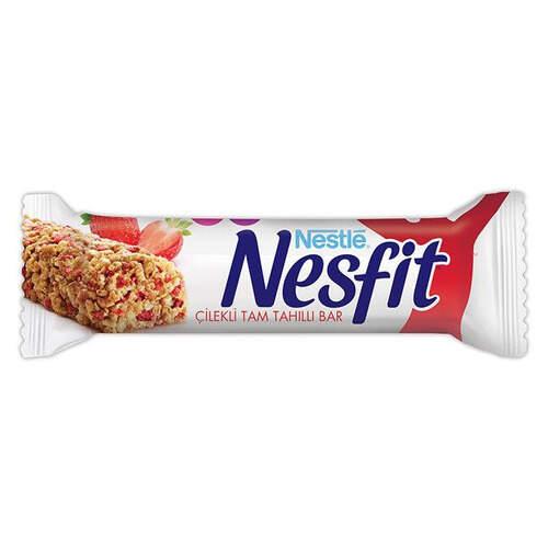 Nestle Nesfit Çilek Tam Tahıllı Bar 23,5 Gr.