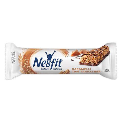 Nestle Nesfit Bar Karamelli Tam Tahıllı 23,5 Gr