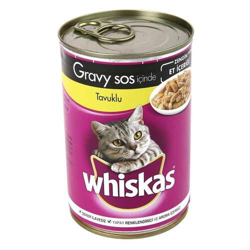 Whiskas Tavuklu Konserve 400 Gr.
