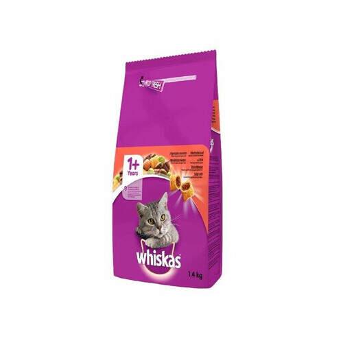 Whiskas Kuru Sığır Etli 1,4 Kg.