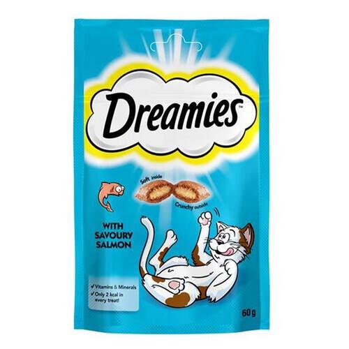 Dreamies Somonlu 60 Gr.