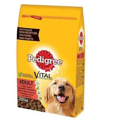 Pedigree Kuru Kümes Hayvanı Ve Pirinç 2,6 Kg.