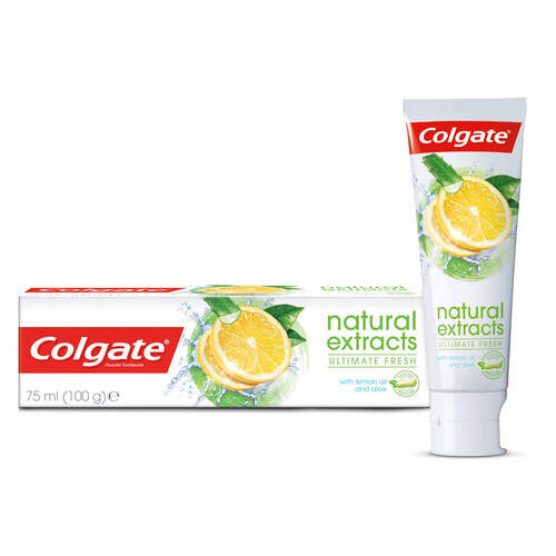 Colgate Diş Macunu Natural Limon 75 Ml.