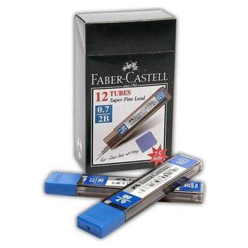 Faber Castel Kalem Min Uç 0.7 2b