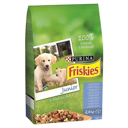 Frıskıes Jnr Dog Chkn&mlk&veg 2.4 Kg