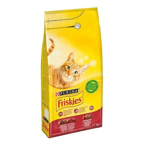 Frıskıes Kedi Maması Tavuklu&sebzeli 1,7 Kg