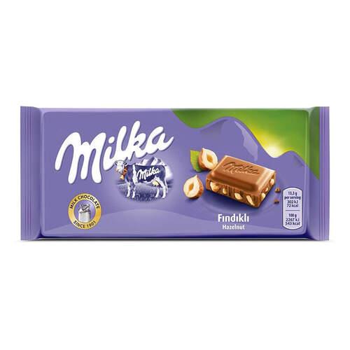 Milka Tablet Fındıklı 80 Gr.