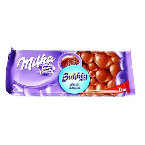 Milka Tablet Sütlü Bubbly 80 Gr.